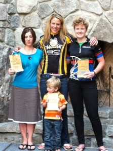 BC Bike Race Podium