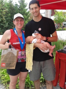 A 5km run at 6-months post-baby