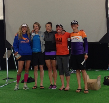 Great White North Triathlon 2013 Overall Women's Podium
